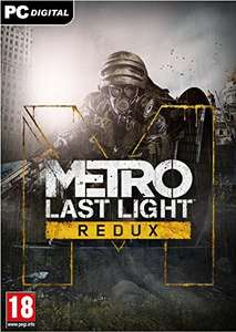 PC Metro Last Light Redux Steam Code For £3 On Amazon (On Steam It Is £14.99)
