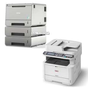Brother Colour Workgroup Laser Printer £149.99  / OKI  A4 Mono printer £239.99 / poss £149.99 with trade in (Selected list in OP) + Free NDD w/Code @ Box