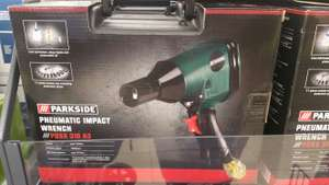 Parkside Pneumatic Impact Wrench £19.99 @ lidl