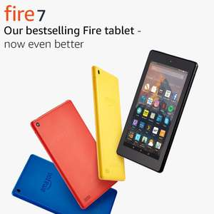 "Fire 7 Tablet with Alexa, 7"" Display, 8 GB, Black £20 Tesco instore"