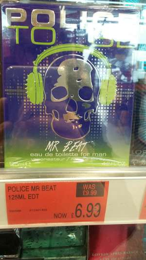 Police To Be Mr Beat 125ml only £6.99 @ B&M