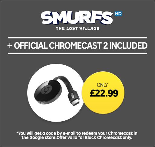 Chromecast 2 Plus Smurfs: The Lost Village - £22.99 - Rakuten.tv