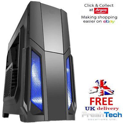 Intel I7 8700K Gaming Pc Computer 1tb 16Gb GF GTX 1080Ti 11GB SBoxB £1468.95 freshtech_uk / Ebay