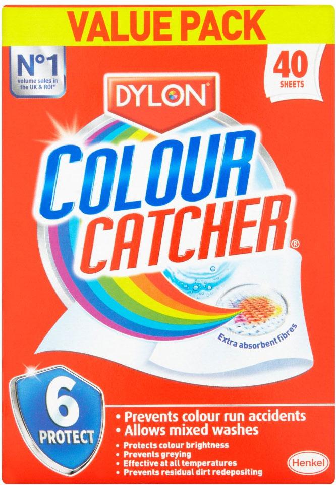 Dylon Colour Catcher Bumper Pack (40 sheets) - £3 @ ASDA