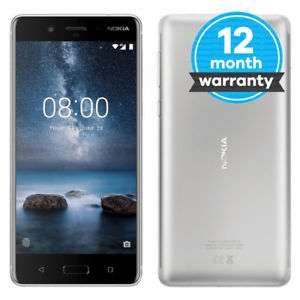 Nokia 8 - 64 GB - Polished Blue (Unlocked) Smartphone £239.99 @ music magpie store eBay using the code P20SPRING