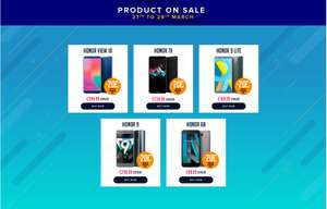 Sale on the Hihonor website @ Hihonor UK 27th march (deals on the  view 10, honor 9, honor 9 lite, honor 7x)