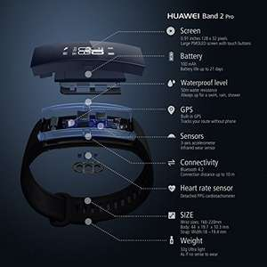 Huawei Band 2 Pro Fitness Wristband Activity Tracker £45.99 Sold by Data Direct and Fulfilled by Amazon.
