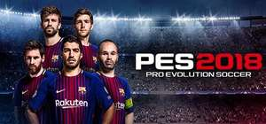 PC Pro Evolution Soccer 2018 (PES 2018) Steam Code £8.74 (75% Off) Greenman Gaming