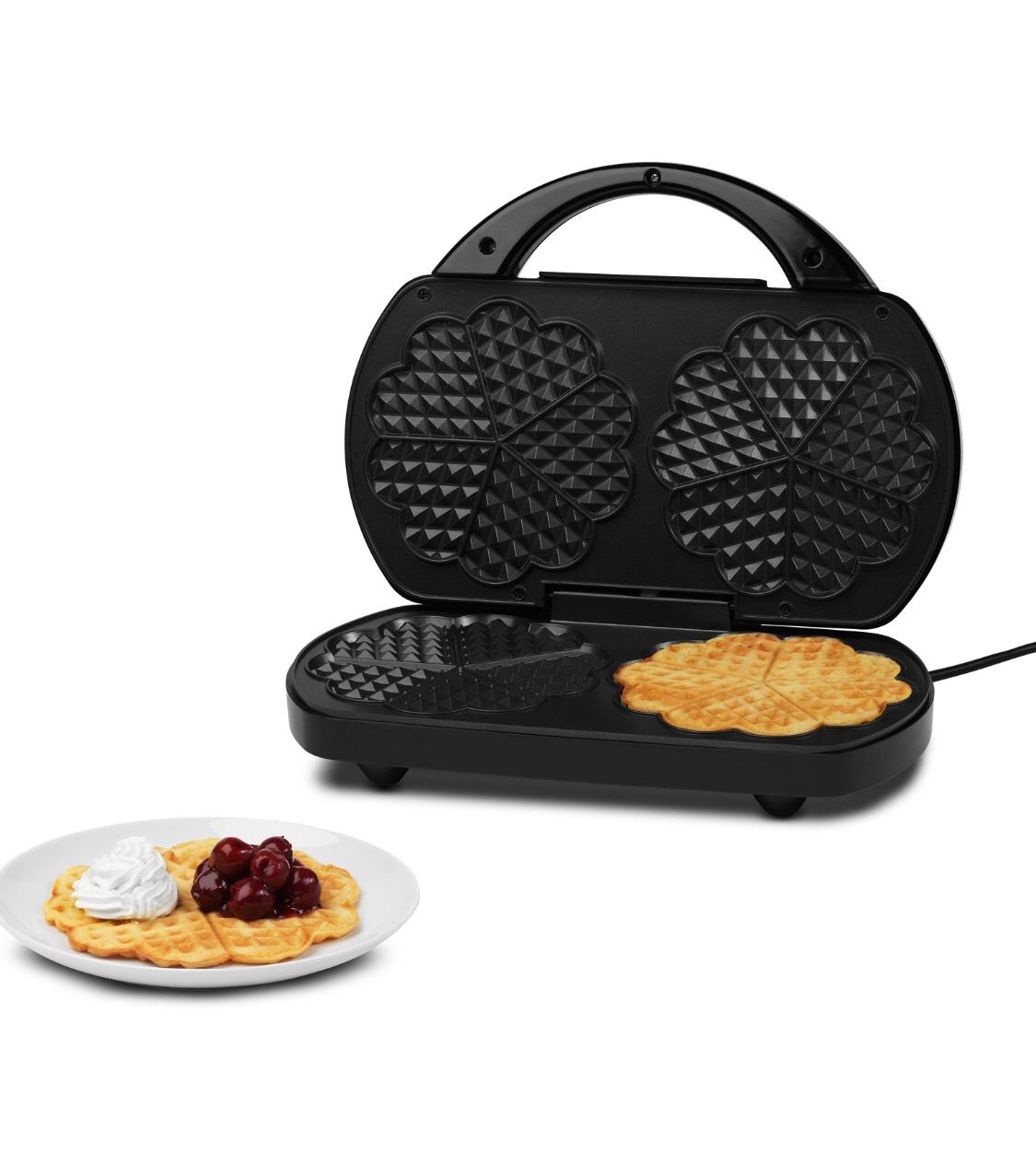 MEDION Double Waffle Maker 1200w £14.99