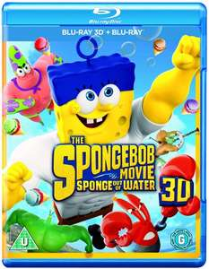 SpongeBob Movie - Sponge out of Water 3D Blu Ray (with code SIGNUP10) @ Zoom