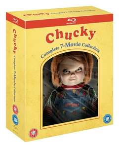 Chucky Complete 7 Movie Blu Ray Collection £22.50 @ Zoom