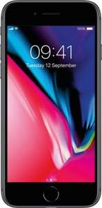 Apple iPhone 8 EE 8GB unlimited texts/mins - £200 Up Front / £30pm x 24 months = £920 @ Mobiles.co.uk