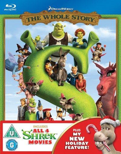 Shrek - The Whole Story Blu Ray Box Set £9 @Zoom