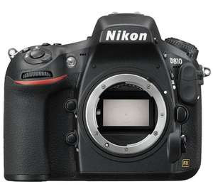 Nikon D810 body only - £1,999.00 @ Currys