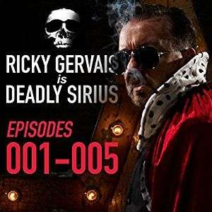 'Ricky Gervais is Deadly Sirius' episodes 1-5 audiobook for Audible @Amazon - £1.74
