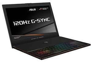 ASUS GX501VS-GZ058T ROG Zephyrus 15.6-Inch Gaming Laptop for £1,999.00 @ Amazon.co.uk