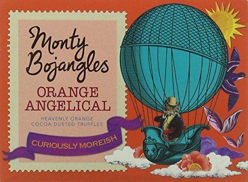 Monty Bojangles Dusted Truffles Orange Angelical 150 g (Pack of 8) Amazon £6.02 Prime / £10.01 Non Prime