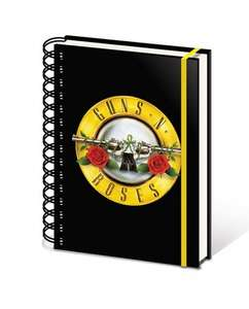 Guns N Roses Bullet Logo A5 Notebook - £1 @ Poundland