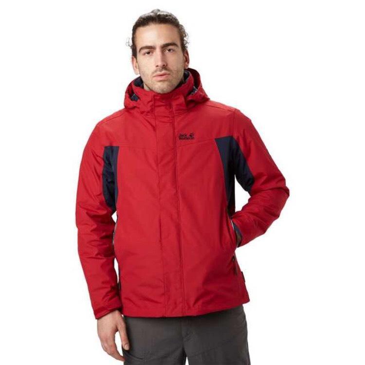 JACK WOLFSKIN Men's Nansen 3-in-1 Jacket £84.15 @ Blacks
