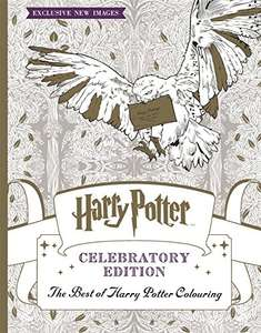 Harry Potter Colouring Book Celebratory Edition: The Best of Harry Potter colouring Amazon deal of the day £4.50 (Prime) / £7.49 (non Prime) @ amazon