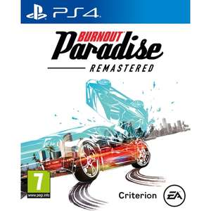 Burnout Paradise Remastered [PS4/XO] £27.89 with code @ 365Games