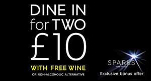 Dine in for £10 - Main, Side, Dessert and Wine - Instore Food Offer Back AT M&S  Mar 21 - 27