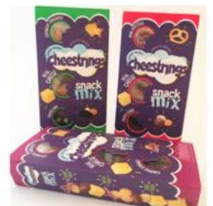 Free Pack of New Cheestrings Snack Mix - claim your free pack in any ASDA, Morrisons, Tesco or Waitrose