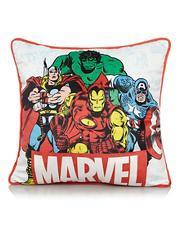 Marvel Comics superhero square cushion 40cm X 40cm £6 or fleece blanket £6  @ Asda