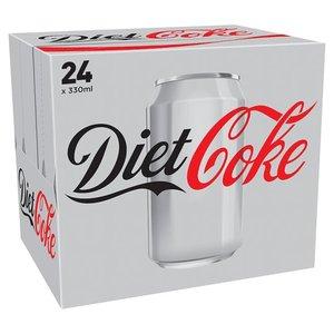 Diet Coke / Coke Zero 24 X 330ml £5.50 @ Tesco from 04/04 online and instore