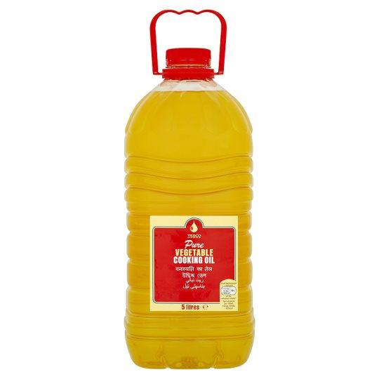 Tesco Vegetable Oil 5 Litre £3.50 instore / online at Tesco