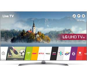 "LG 55UJ750V 55"" Smart 4K Ultra HD HDR LED TV for £448.97 delivered @ Currys"