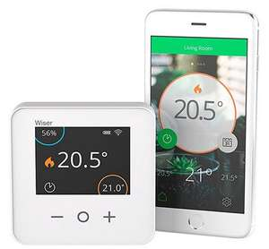 Drayton Wiser Smart Thermostat (Heating & Hot Water) - works with Alexa and IFTTT £99.90 @ Amazon