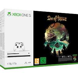 Xbox One S 1TB Sea of Thieves Bundle + Xbox Wireless Controller- Recon Tech Special Edition + NOW TV £259.99 @ Game