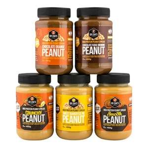Musclefood - Dr Zaks - short dated protein peanut butter £2.99 + £4.99 delivery - tastes amazin