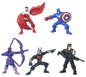 Avengers Captain Tube Figure Assortment £2.49 at Argos