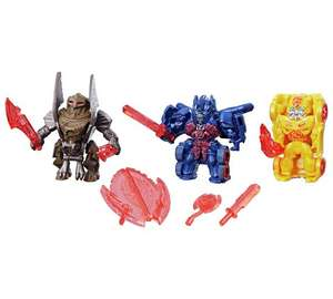 Transformers: Reveal the Shield Tiny Turbo Changers 3-Pack £2.49 @ Argos