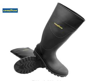 Goodyear Wellington Boots Size 6 Black £7.34 @ Toolstation