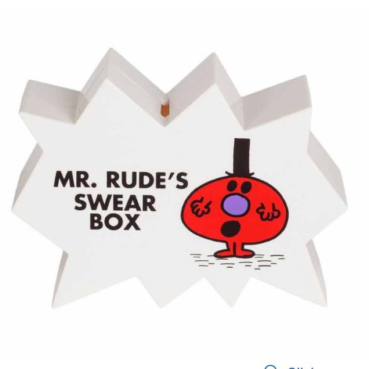 Mr Men Mr Rude Swear Box £4.99 @ Argos