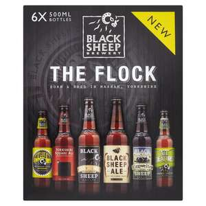 Black Sheep Brewery Flock Pack 6 x 500m £9 @ Morrisons discount offer