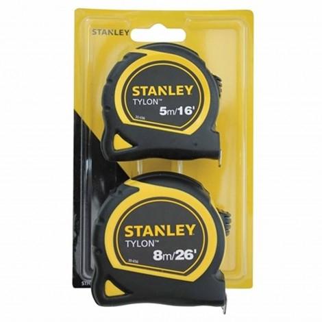 STANLEY TYLON TAPE MEASURE TWIN PACK - £7.79 including VAT @ Selco BW