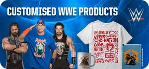 Certain WWE figures and accessories more than 50% off - Entertainer