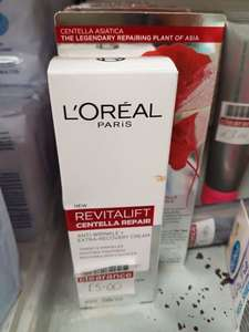L oreal revitalift centella repair anti wrinkle and extra recovery cream - Leicester Beaumont leys Boots store - £5