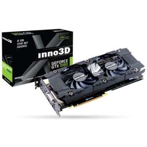 INNO3D Twin X2 GeForce GTX 1080 8GB GDDR5X Graphics Card - £549.97 @ Laptops Direct