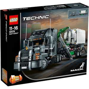 Lego Technic : Mack Anthem set [42078] £119.99 with Free Next day Del @ IWOOT