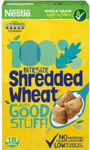 Nestlé Shredded Wheat Bitesize (750g) - £2 @ Tesco