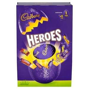 Cadbury Heroes Large Easter Egg & Miniatures (274g) - £3 @ Sainsbury's