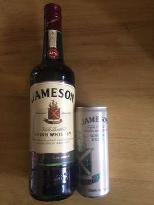 Jameson Irish Whiskey 70cl with Ginger & Lime Can £14.98 @ Costco
