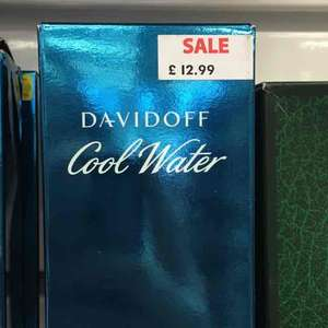 davidoff cool water 125ml EDT - £12.99 sports direct instore