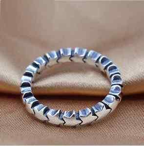 Sterling silver stacking ring £8.99 dotistyle / Ebay