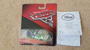 Cars 3 diecast reduced in Disney Store MK £4 instore - Milton Keynes